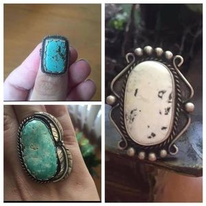Jewelry - Turquoise Ring Bundle